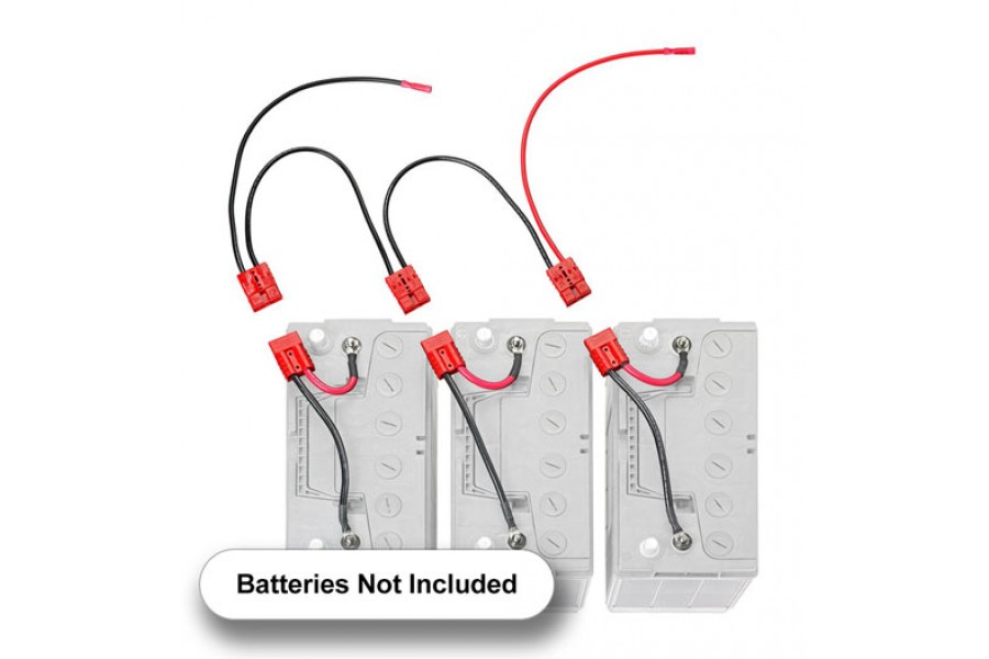 36v Quick Connect Battery Harness